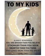 To my kids 2 boys-1 11x17 Poster front