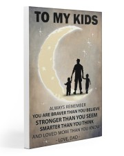 To my kids 2 boys-1 Gallery Wrapped Canvas Prints tile