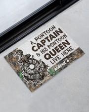 """Captain 2912NA Customize Name Doormat 22.5"""" x 15""""  aos-doormat-22-5x15-lifestyle-front-09"""