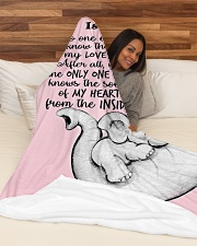 """My Love My Heart DD010610DH Blanket Customize Name Large Fleece Blanket - 60"""" x 80"""" aos-coral-fleece-blanket-60x80-lifestyle-front-03"""