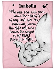 """My Love My Heart DD010610DH Blanket Customize Name Large Fleece Blanket - 60"""" x 80"""" front"""