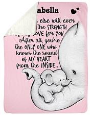 My Love My Heart DD010610DH Blanket Customize Name Sherpa Fleece Blanket tile