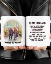 To My Husband HN011302DH Customize Name Mug ceramic-mug-lifestyle-24