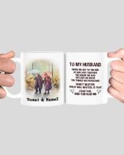 To My Husband HN011302DH Customize Name Mug ceramic-mug-lifestyle-41