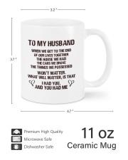 To My Husband HN011302DH Customize Name Mug ceramic-mug-lifestyle-62