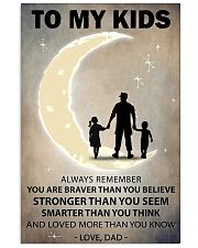 To my kids girl and boy 2 11x17 Poster front