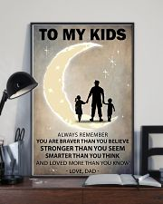 To my kids girl and boy 2 11x17 Poster lifestyle-poster-2