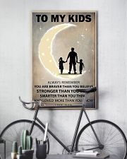 To my kids girl and boy 2 11x17 Poster lifestyle-poster-7