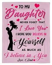 To my daughter believe Comforter - Twin front