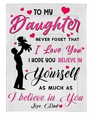 To my daughter believe Comforter tile