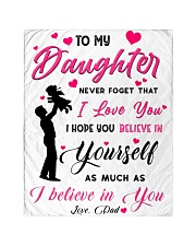 To my daughter believe Quilt tile