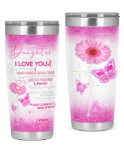 To my daughter good time - dad 20oz Tumbler front