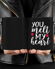 You Meet My Heart HN011303NA Customize Name Mug ceramic-mug-lifestyle-24