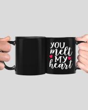You Meet My Heart HN011303NA Customize Name Mug ceramic-mug-lifestyle-41