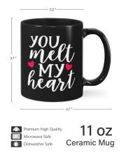 You Meet My Heart HN011303NA Customize Name Mug ceramic-mug-lifestyle-62