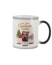 Chritsmas Together 2 Mug Personalize Color Changing Mug tile