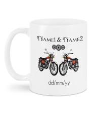 Lets Go Riding DD011102DH Customize Name Mug back