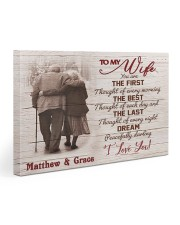 The First DD123008MA Customize Name Gallery Wrapped Canvas Prints tile