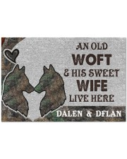 """Live Here DD010415MA Doormat 34"""" x 23"""" front"""