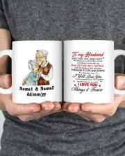 Always And Forever DD011313MA Customize Name Mug ceramic-mug-lifestyle-34