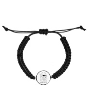 calamity bracelet Cord Circle Bracelet front