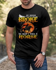 My Broom Broke So Now I Ride A Horse Classic T-Shirt apparel-classic-tshirt-lifestyle-front-53