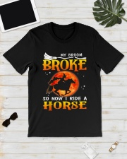 My Broom Broke So Now I Ride A Horse Classic T-Shirt lifestyle-mens-crewneck-front-17