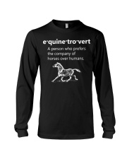 Equinetrovert Definition Long Sleeve Tee thumbnail