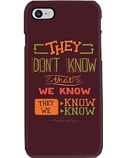 New Collection - They don't know that we know Phone Case i-phone-7-case