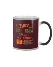 New Collection - They don't know that we know Color Changing Mug thumbnail