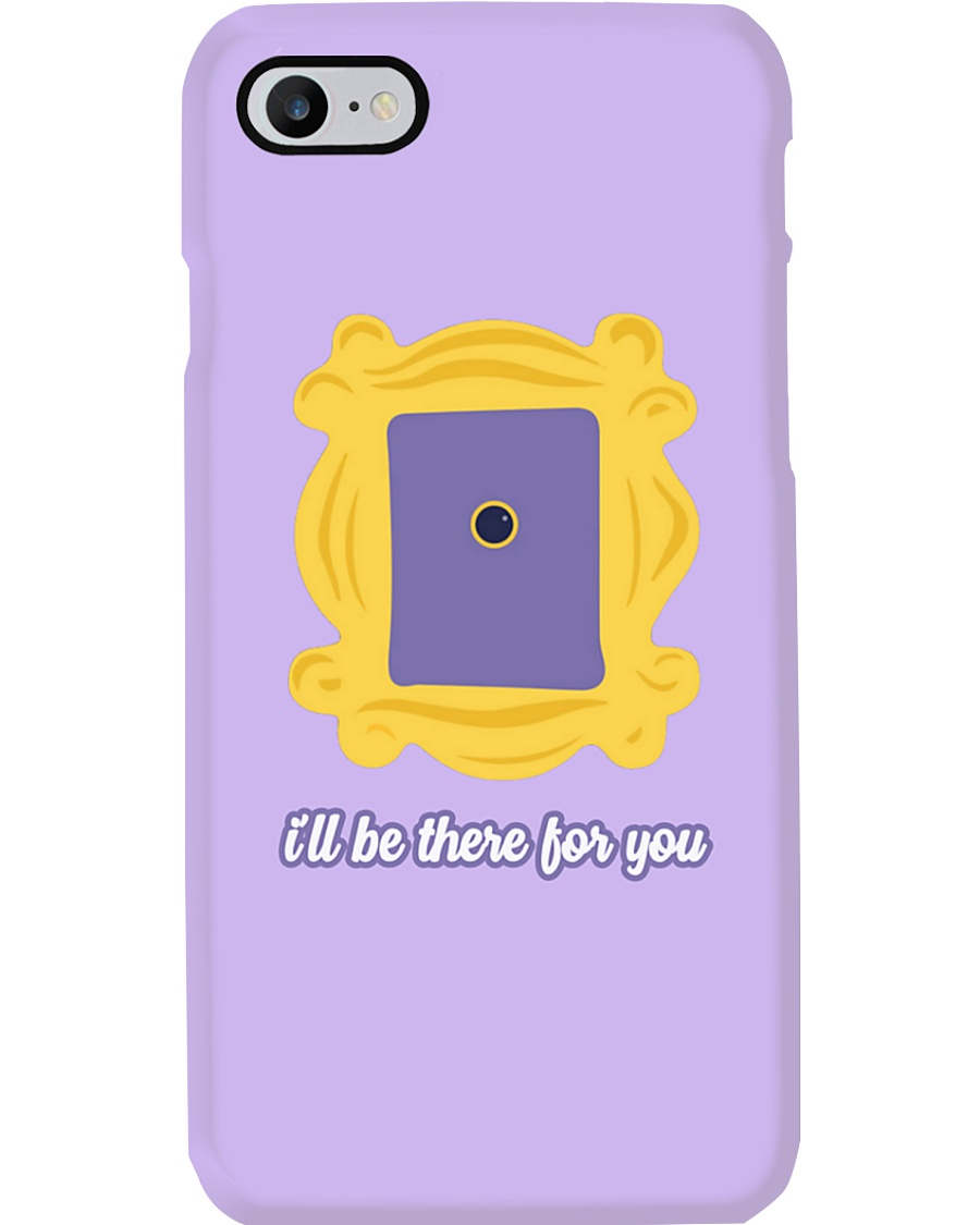Yellow Purple Door Frame Phone Case