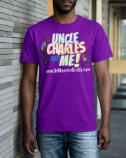 Uncle Charles and Me Classic T-Shirt apparel-classic-tshirt-lifestyle-front-40