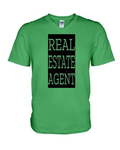 Real Estate Agent - Black