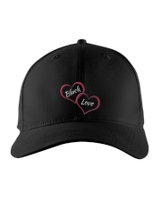 BLACK LOVE Embroidered Hat front