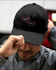 BLACK LOVE Embroidered Hat garment-embroidery-hat-lifestyle-01