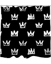 Crown Shower Curtain front