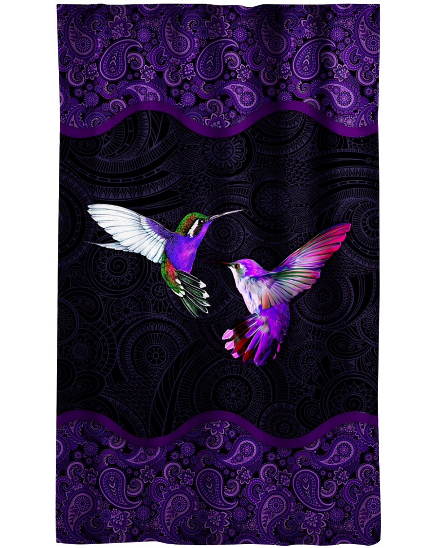 Hummingbird Window Curtain - Sheer