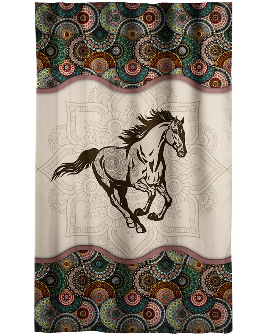 Horse Window Curtain - Sheer