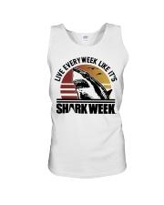 Live Every Week Like It's Shark Week Unisex Tank thumbnail