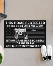 "This house Doormat 22.5"" x 15""  aos-doormat-22-5x15-lifestyle-front-07"