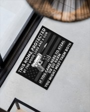 "This house Doormat 22.5"" x 15""  aos-doormat-22-5x15-lifestyle-front-08"