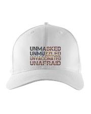 Unafraid hat Embroidered Hat front