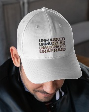 Unafraid hat Embroidered Hat garment-embroidery-hat-lifestyle-02