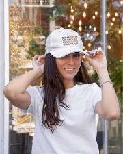 Unafraid hat Embroidered Hat garment-embroidery-hat-lifestyle-04