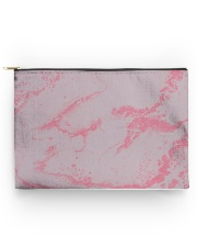 Pink marble Accessory Pouch - Large thumbnail