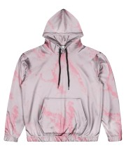 Pink marble Men's All Over Print Hoodie thumbnail
