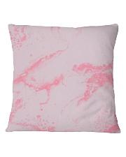 Pink marble Square Pillowcase thumbnail
