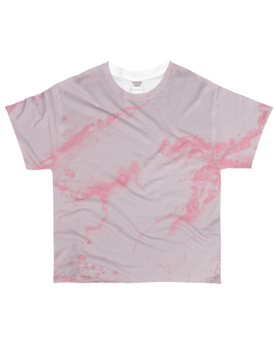 Pink marble All-over T-Shirt