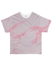Pink marble All-over T-Shirt front