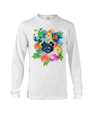 ColoryLIFE - Love your pugs Long Sleeve Tee thumbnail